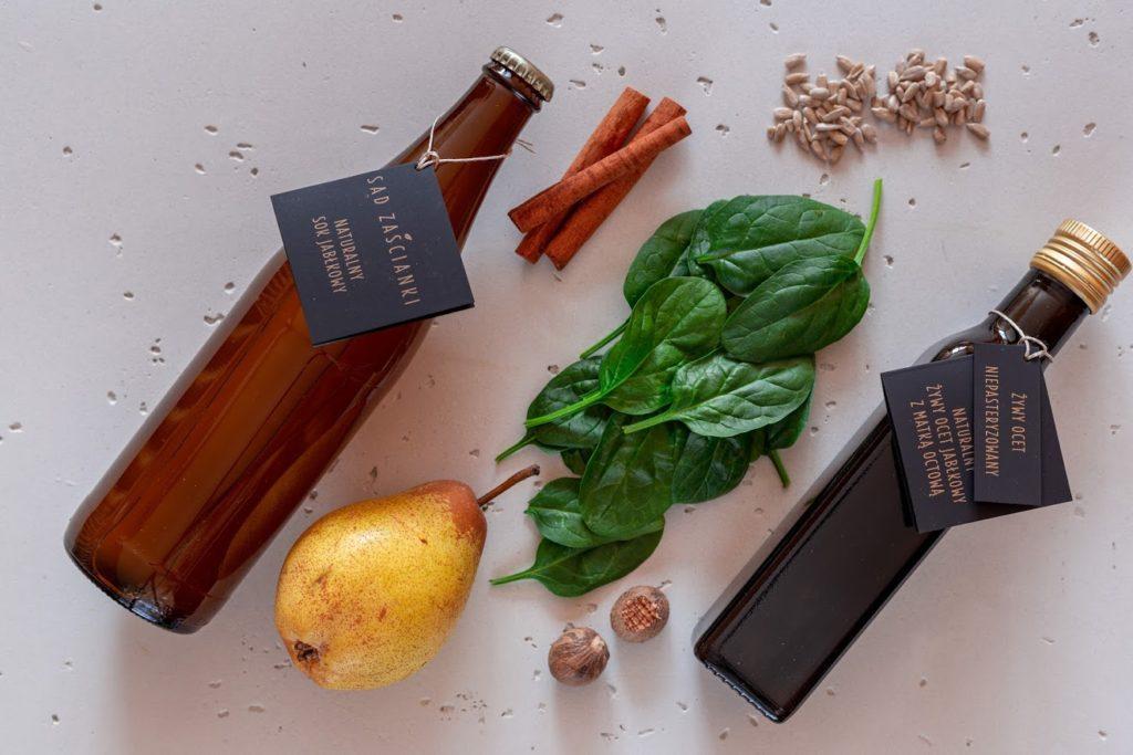 składniki do zielonego smoothie